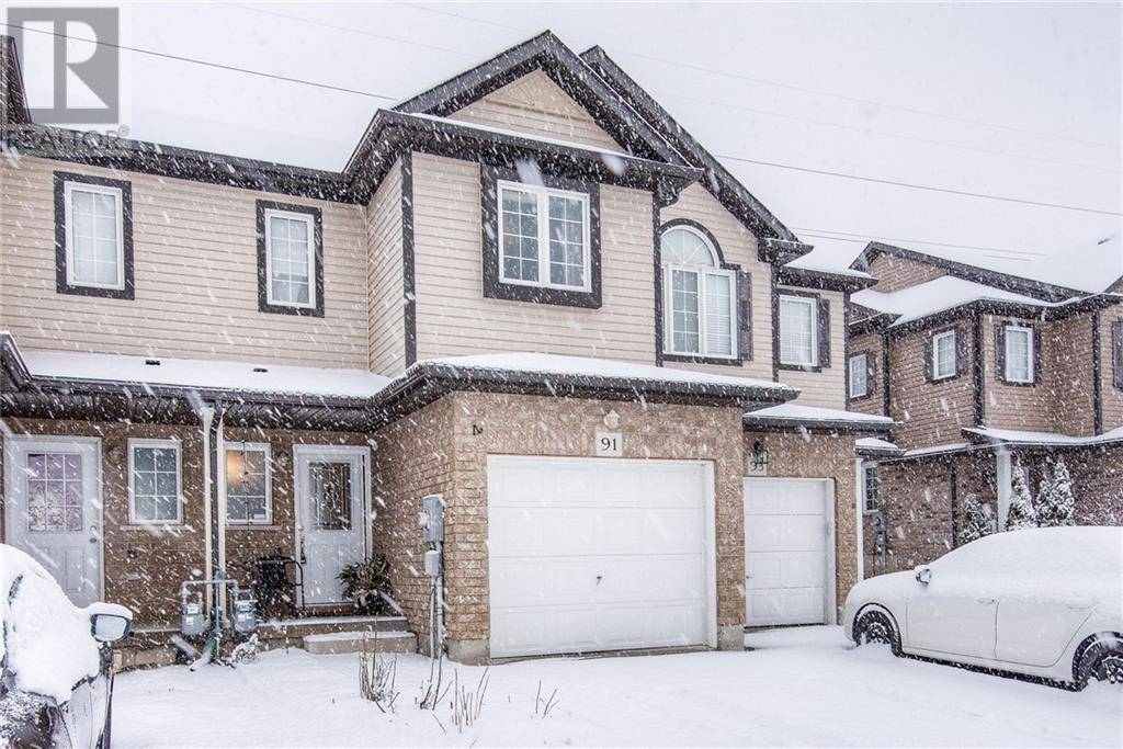 Townhouse for sale at 91 Sorrento St Kitchener Ontario - MLS: 30799472