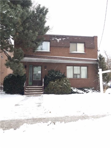 For Rent: 91 Stormont Avenue, Toronto, ON   4 Bed, 4 Bath House for $2,950. See 1 photos!