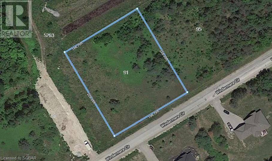 Residential property for sale at 91 Windermere Circ Tay Twp Ontario - MLS: 233899