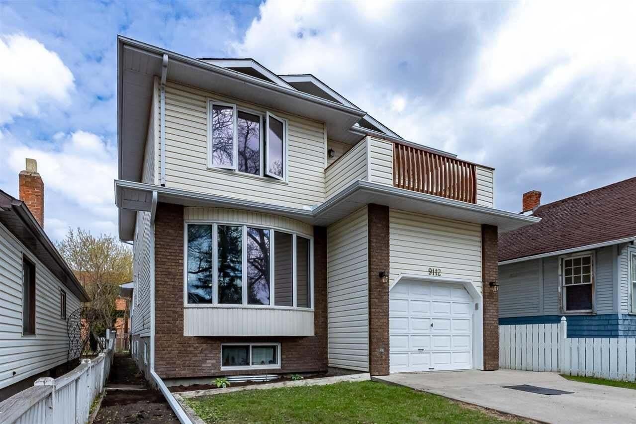 House for sale at 9112 81 Av NW Edmonton Alberta - MLS: E4197672