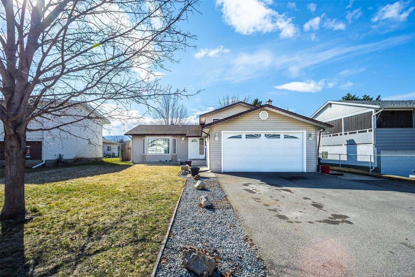 House for sale at 915 Theodora Rd Kelowna British Columbia - MLS: 10204880