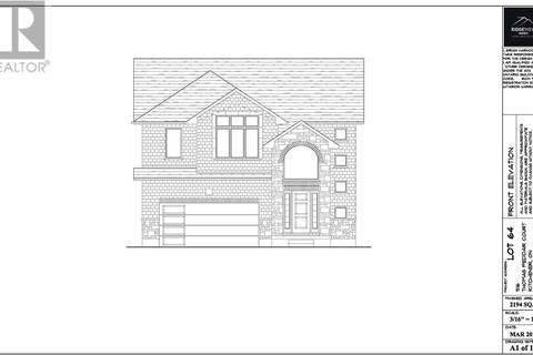 House for sale at 916 Thomas Pedder Ct Kitchener Ontario - MLS: 30724045