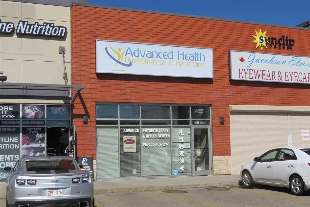 Commercial property for lease at 9168 23 Av NW Edmonton Alberta - MLS: E4206429