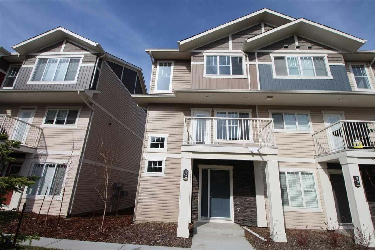 Townhouse for sale at 17832 78 St NW Unit 92 Edmonton Alberta - MLS: E4183033