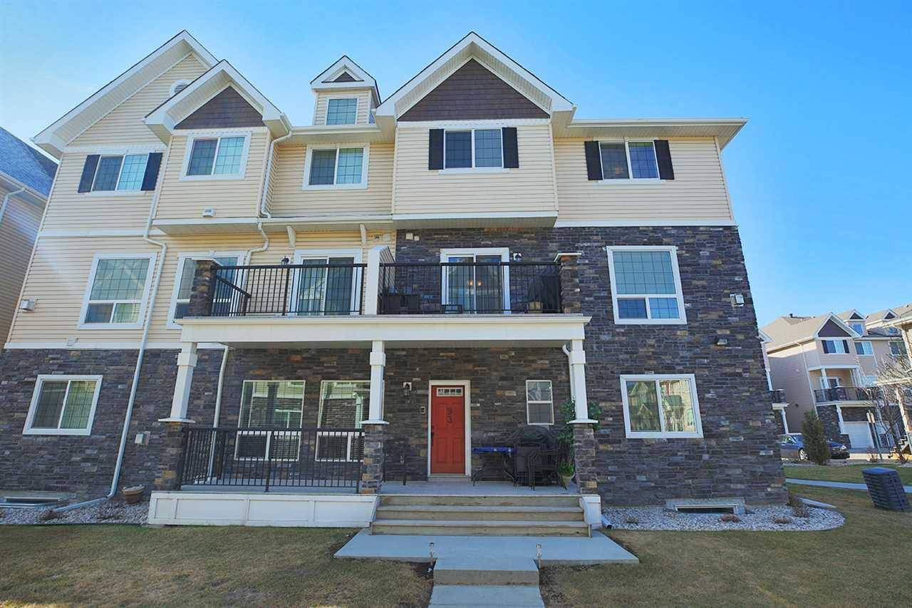 Townhouse for sale at 7293 South Terwillegar Dr Nw Unit 92 Edmonton Alberta - MLS: E4177841