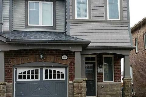 Townhouse for sale at 92 Abigail Cres Caledon Ontario - MLS: W4451584