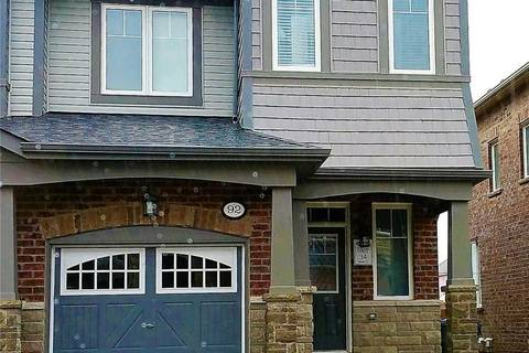 Townhouse for sale at 92 Abigail Cres Caledon Ontario - MLS: W4551366
