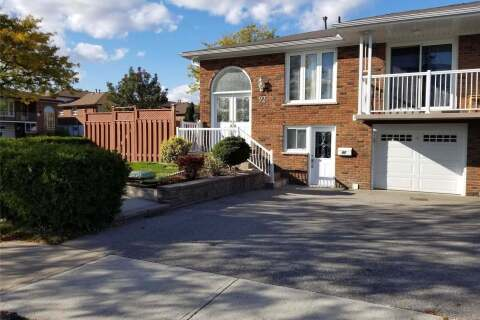 Townhouse for sale at 92 Cabana Dr Toronto Ontario - MLS: W4957567