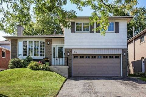 House for sale at 92 Charlottetown Blvd Toronto Ontario - MLS: E4596436