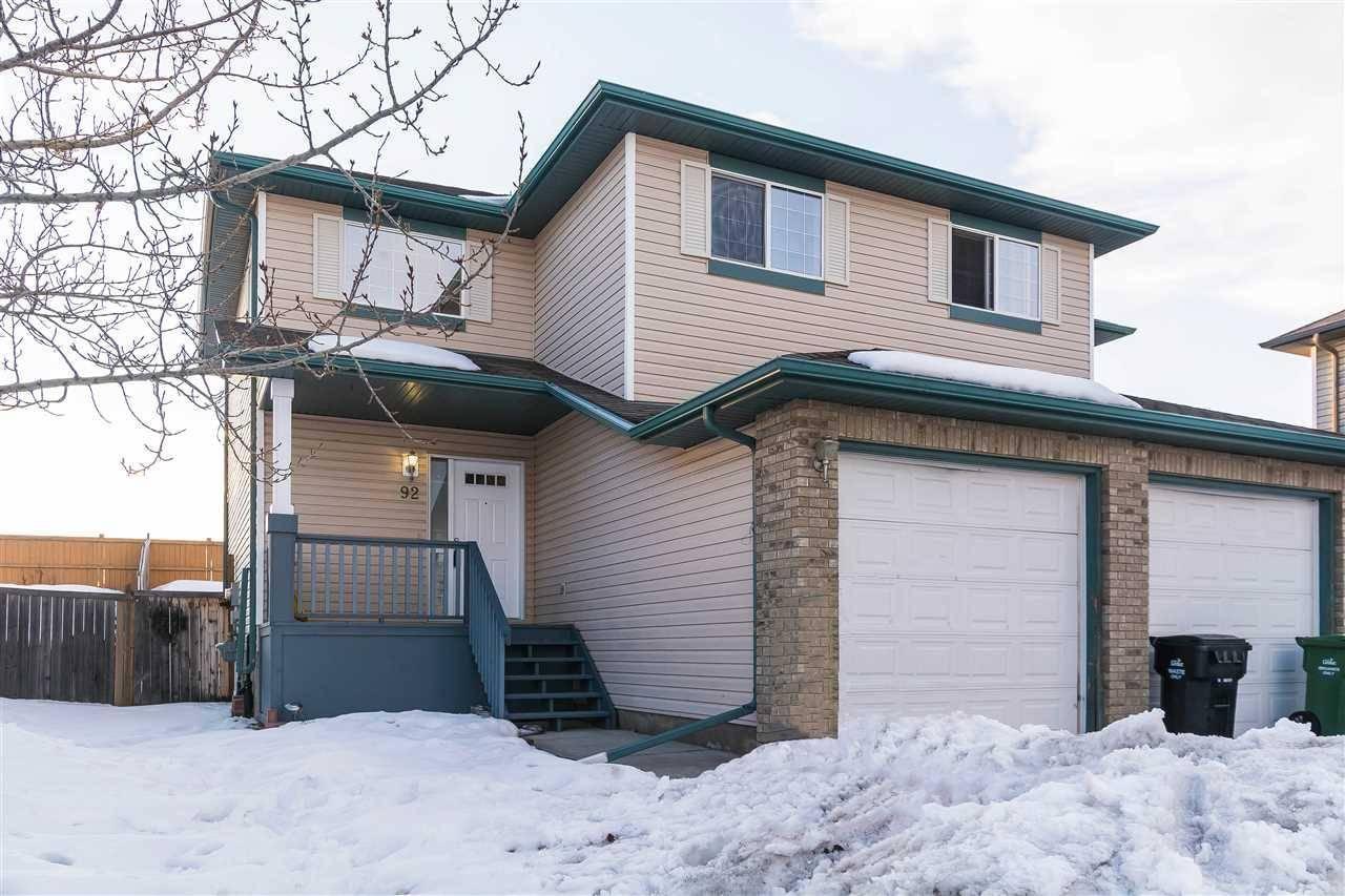 Townhouse for sale at 92 Douglas Ln Leduc Alberta - MLS: E4190939