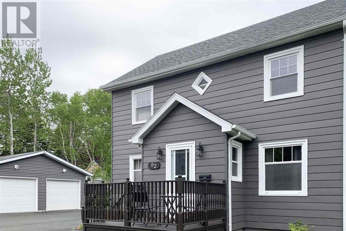 House for sale at 92 Macrae Ave Sydney River Nova Scotia - MLS: 202007944
