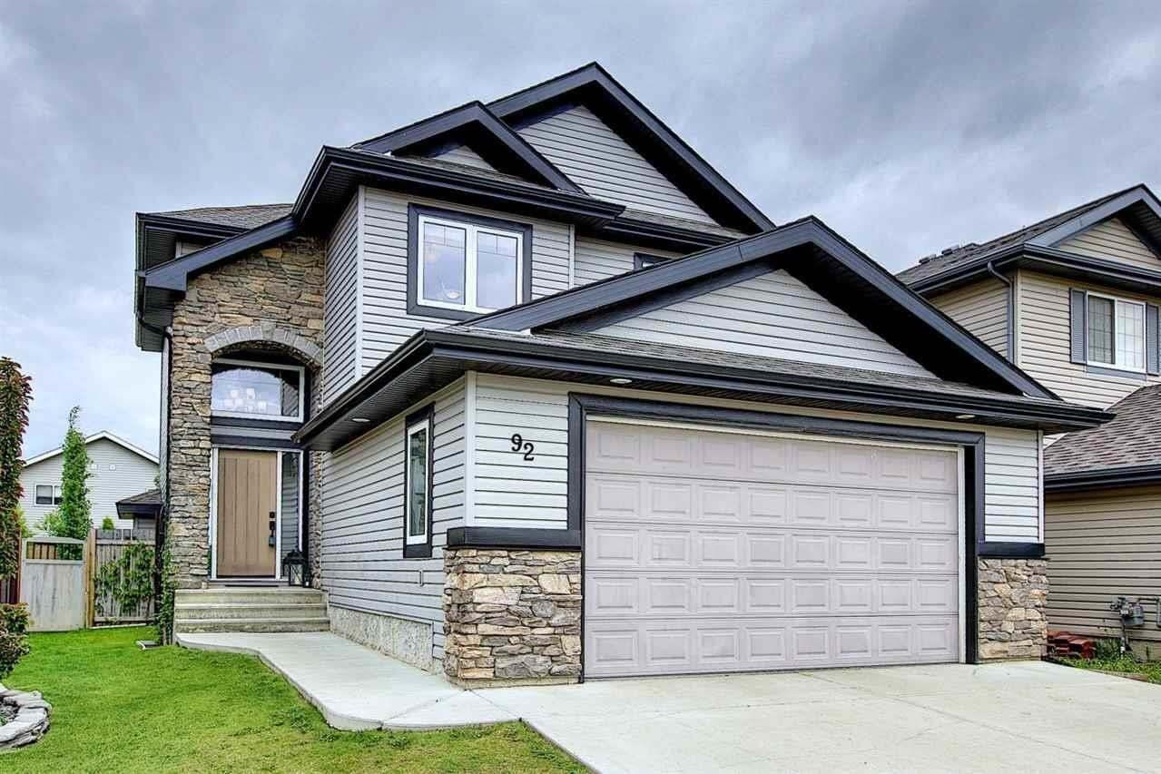 House for sale at 92 Napoleon Cr St. Albert Alberta - MLS: E4203891