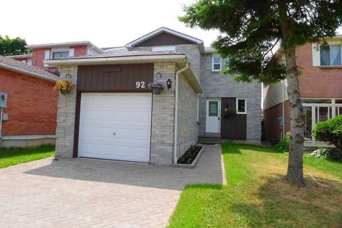 House for sale at 92 Tams Dr Ajax Ontario - MLS: E4480814