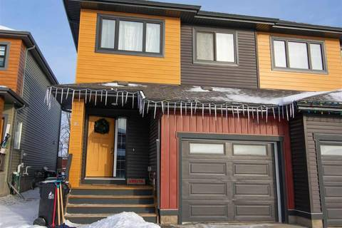 Townhouse for sale at 92 Tribute Common Spruce Grove Alberta - MLS: E4141014