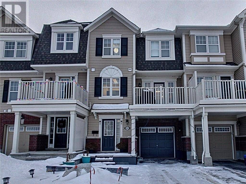 Townhouse for sale at 920 Fameflower St Ottawa Ontario - MLS: 1178781