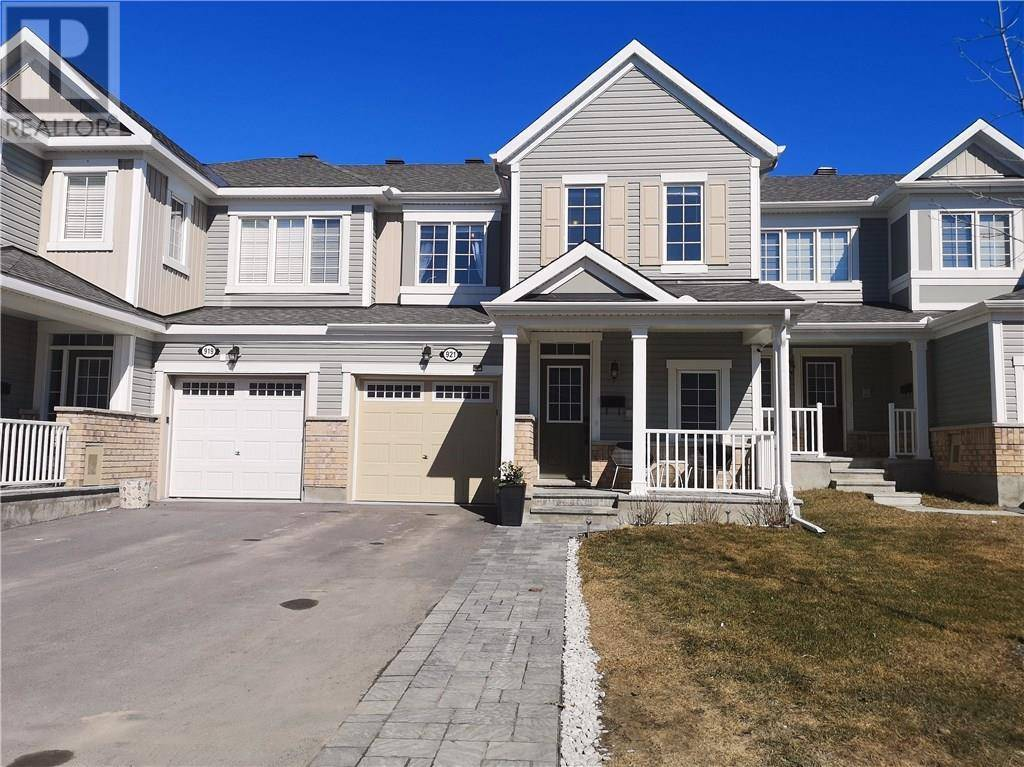 Townhouse for sale at 921 Fameflower St Nepean Ontario - MLS: 1187961