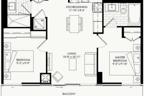 Apartment for rent at 160 Flemington Rd Unit 922 Toronto Ontario - MLS: W4753264