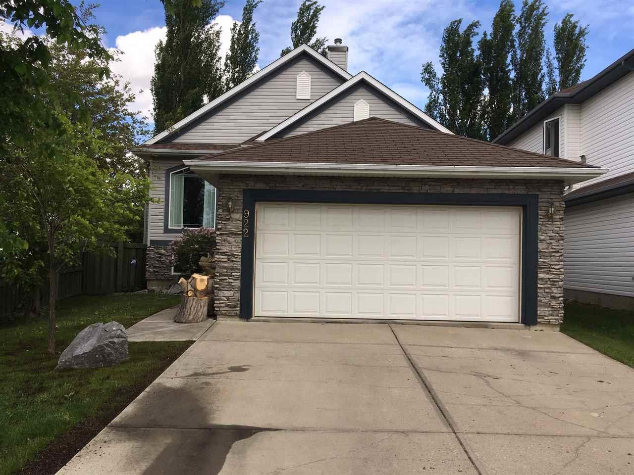 Removed: 922 Graham Wynd Northwest, Edmonton, AB - Removed on 2019-07-22 04:24:04