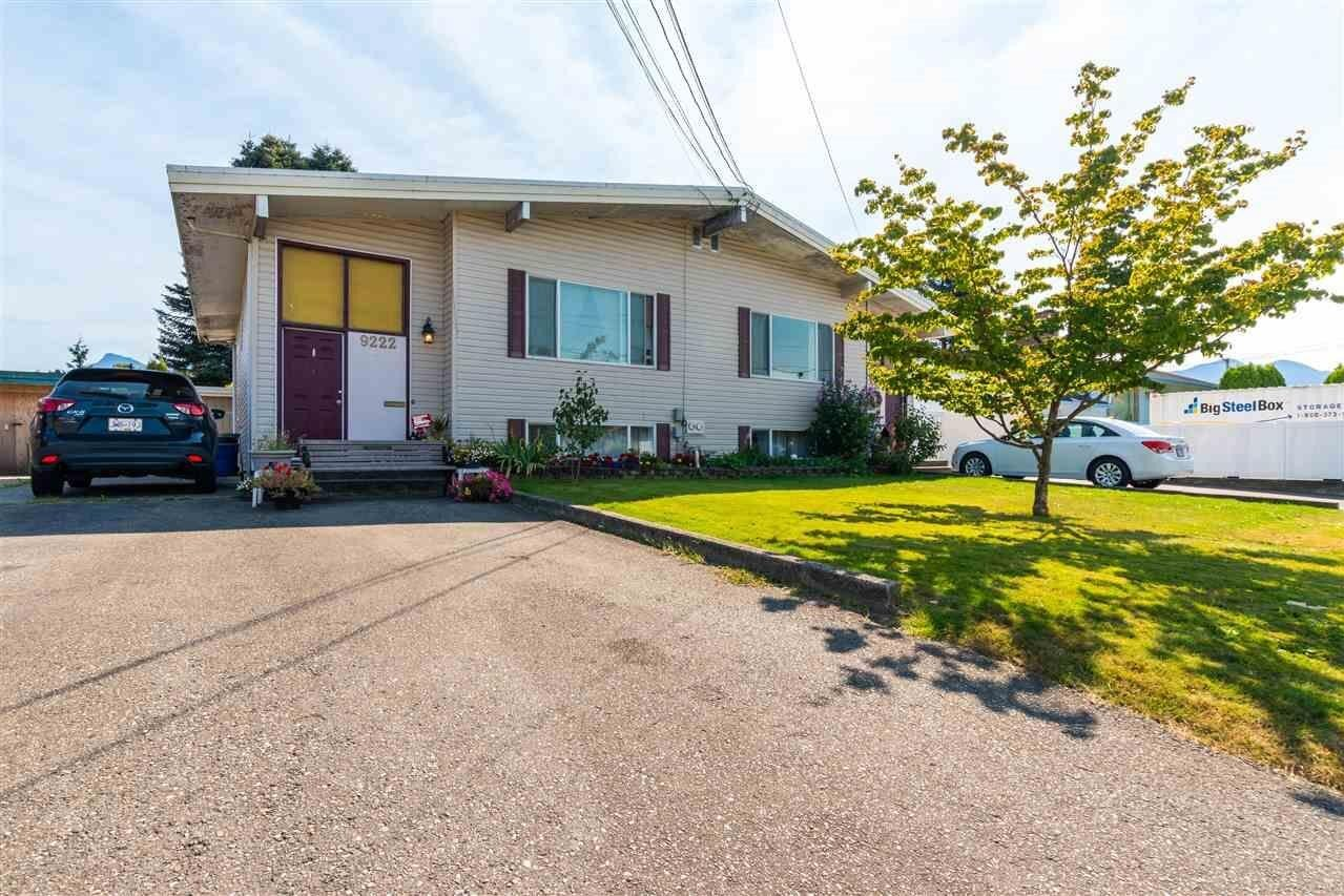 Townhouse for sale at 9222 Windsor St Chilliwack British Columbia - MLS: R2494568