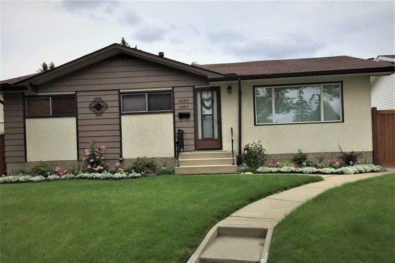 House for sale at 9229 168 St NW Edmonton Alberta - MLS: E4219290