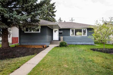 House for sale at 9235 74 St Nw Edmonton Alberta - MLS: E4158327