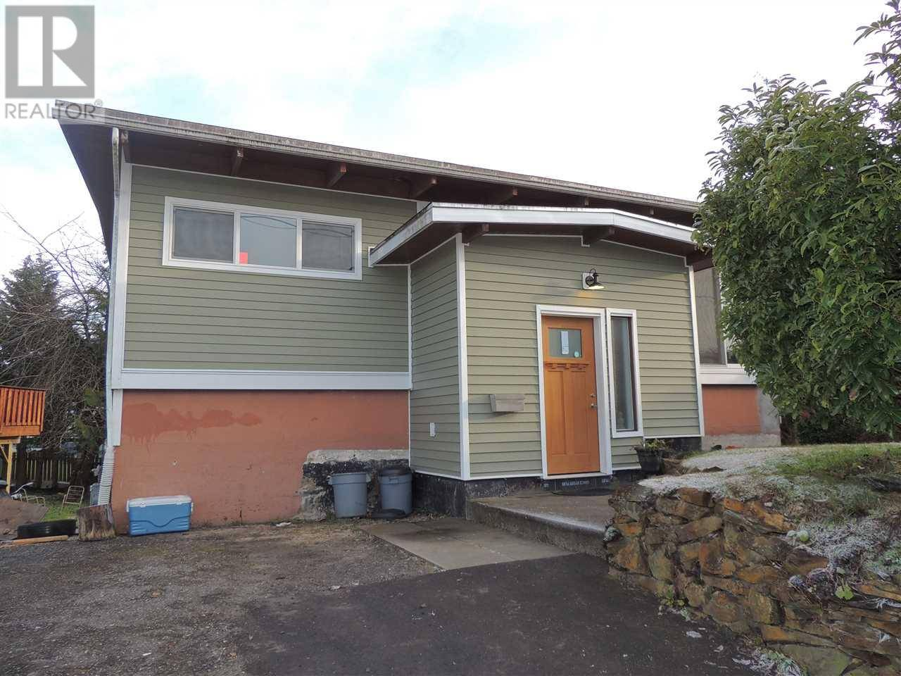 House for sale at 924 Ambrose Ave Prince Rupert British Columbia - MLS: R2424473