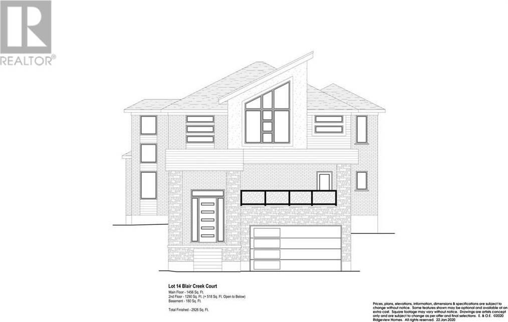House for sale at 924 Blair Creek Ct Kitchener Ontario - MLS: 30785308