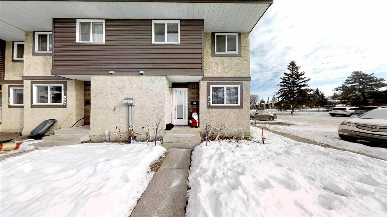 Townhouse for sale at 924 Lakewood Rd Nw Edmonton Alberta - MLS: E4186515