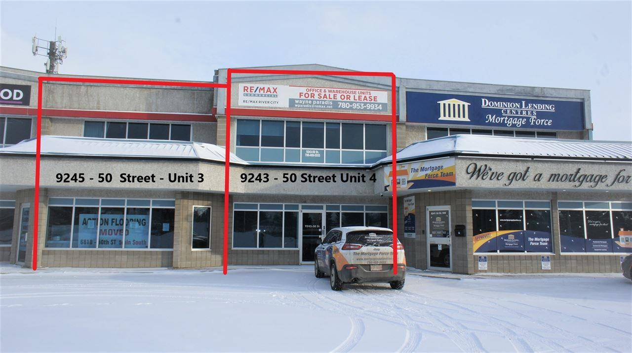 Commercial property for lease at 9243 50 St Se Edmonton Alberta - MLS: E4185358