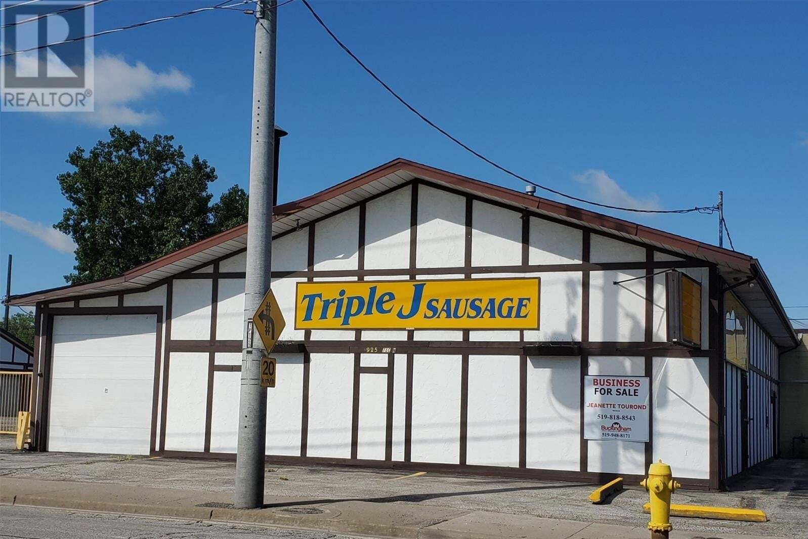 Commercial property for sale at 925 Tecumseh Rd West Windsor Ontario - MLS: 20005862
