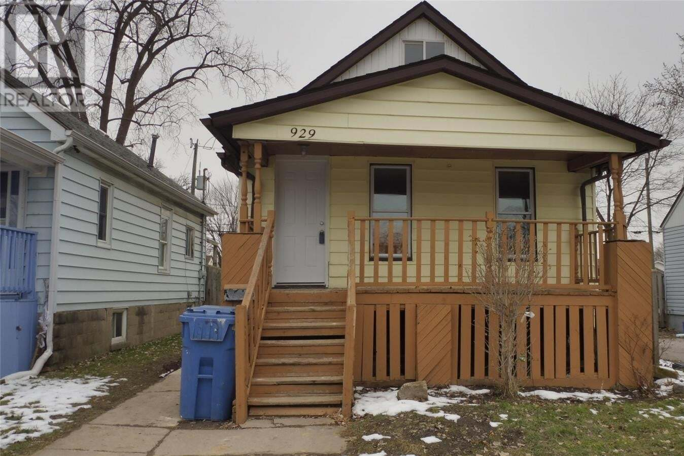 House for sale at 929 Bridge Ave Windsor Ontario - MLS: 20005785