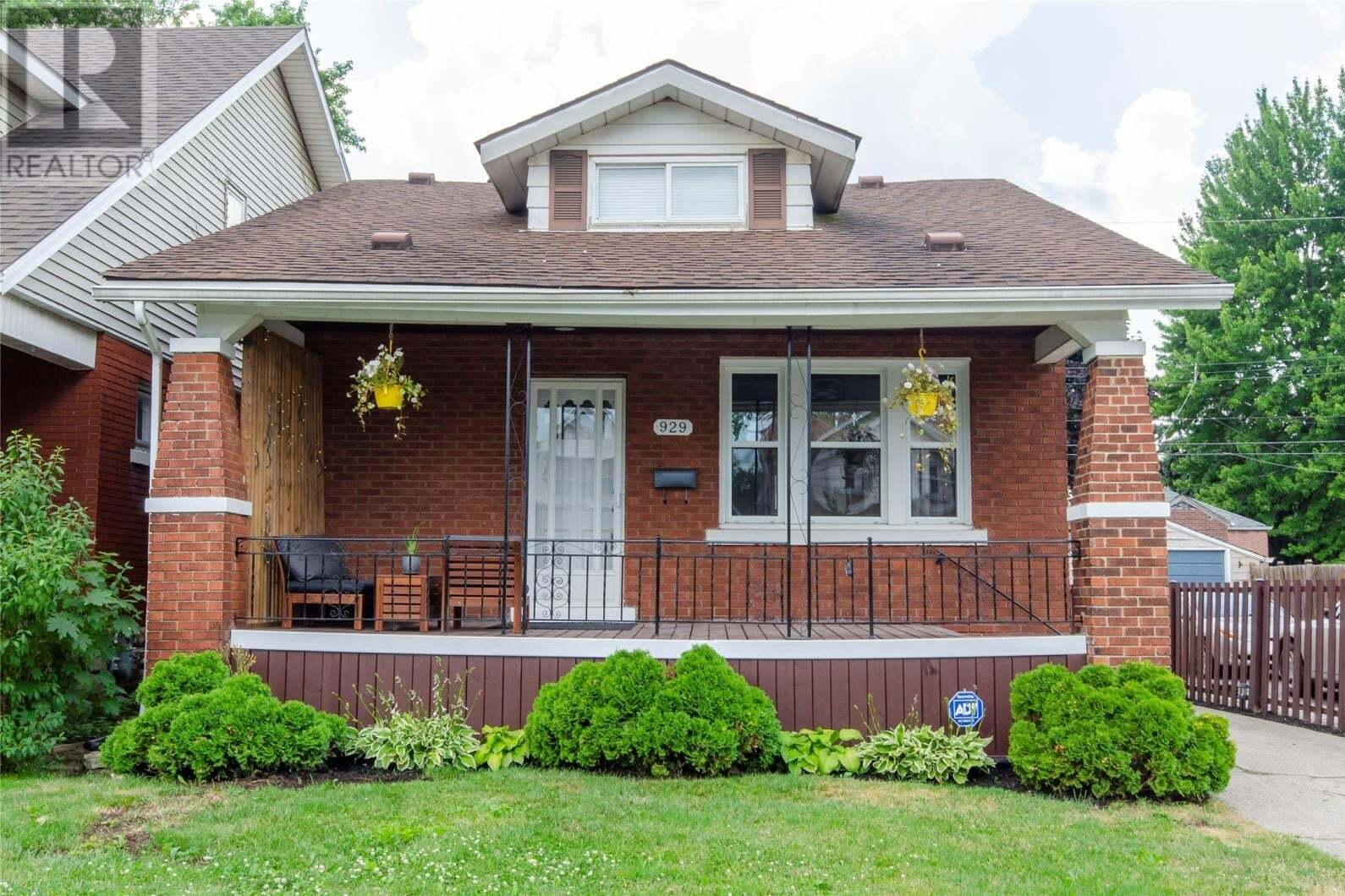 House for sale at 929 Lawrence  Windsor Ontario - MLS: 20008167