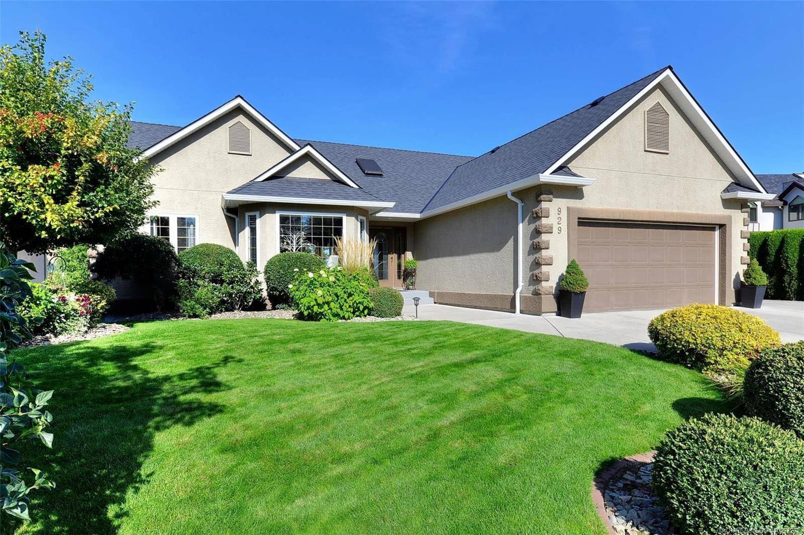 House for sale at 929 Skeena Ct Kelowna British Columbia - MLS: 10192262