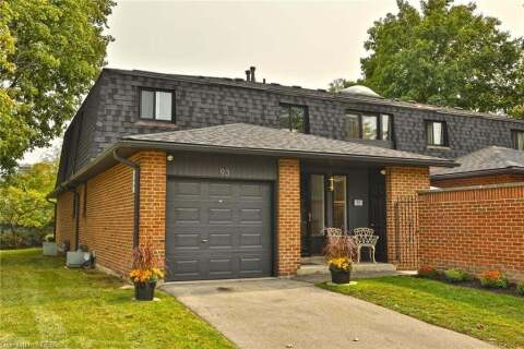Townhouse for sale at 20 Mineola Rd Unit 93 Mississauga Ontario - MLS: 40022834
