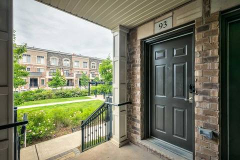 Condo for sale at 2441 Greenwich Dr Unit 93 Oakville Ontario - MLS: W4504997