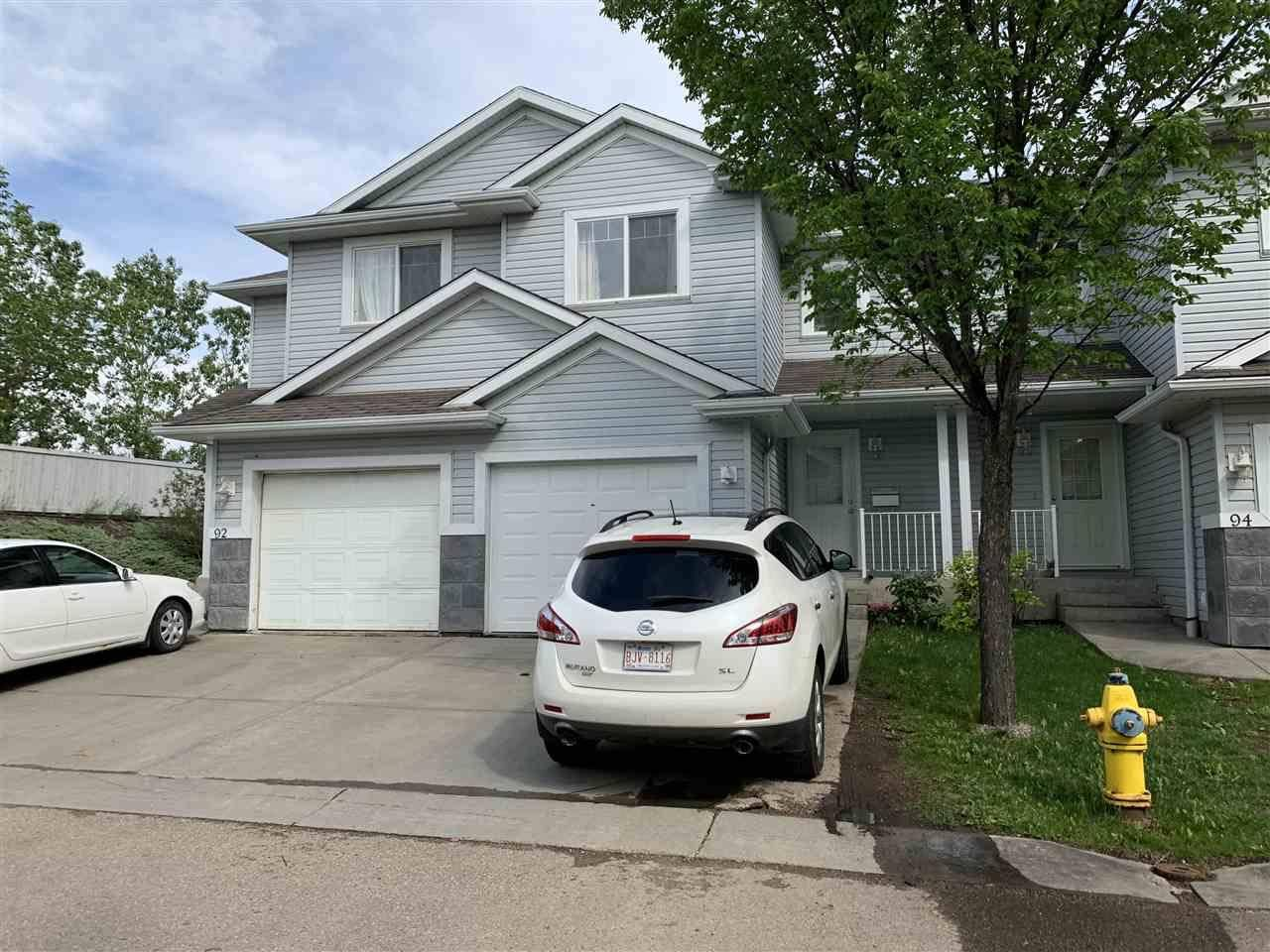 Townhouse for sale at 4350 23 St Nw Unit 93 Edmonton Alberta - MLS: E4162982