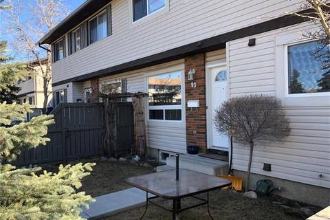 Townhouse for sale at 740 Bracewood Dr Southwest Unit 93 Calgary Alberta - MLS: C4225185