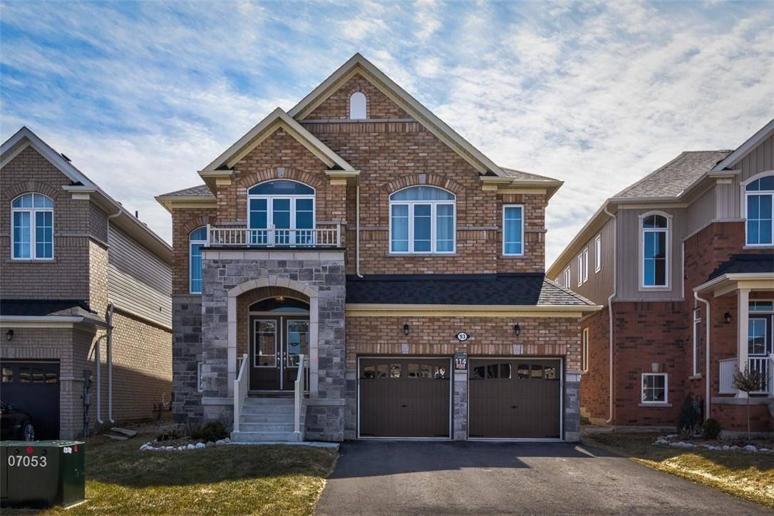 House for sale at 93 Barlow Pl Paris Ontario - MLS: H4075902