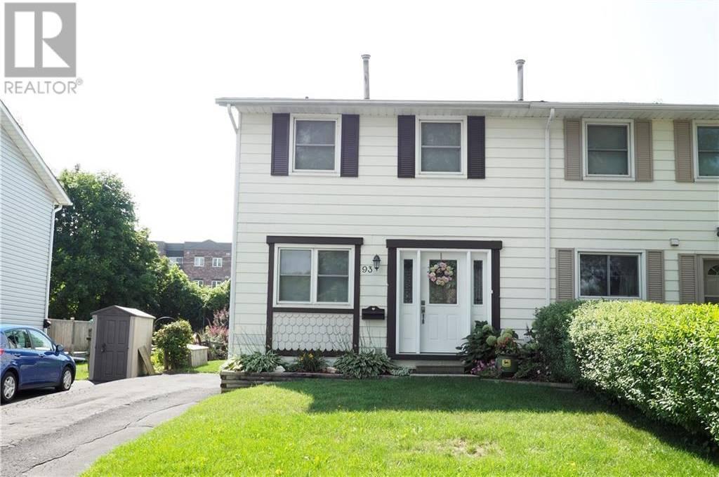House for sale at 93 Blackhorne Dr Kitchener Ontario - MLS: 30760129