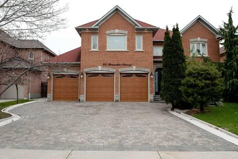 House for sale at 93 Brownlee Ave Vaughan Ontario - MLS: N4445006