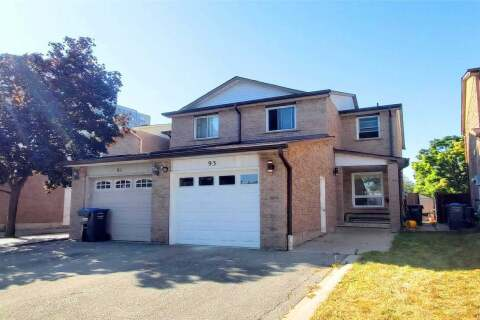 Townhouse for sale at 93 Chalfield Ln Mississauga Ontario - MLS: W4924143
