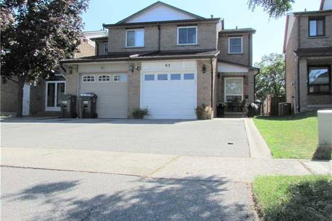 Townhouse for sale at 93 Chalfield Ln Mississauga Ontario - MLS: W4576124