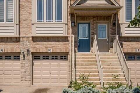 Townhouse for sale at 93 Edenrock Dr Hamilton Ontario - MLS: X4827990