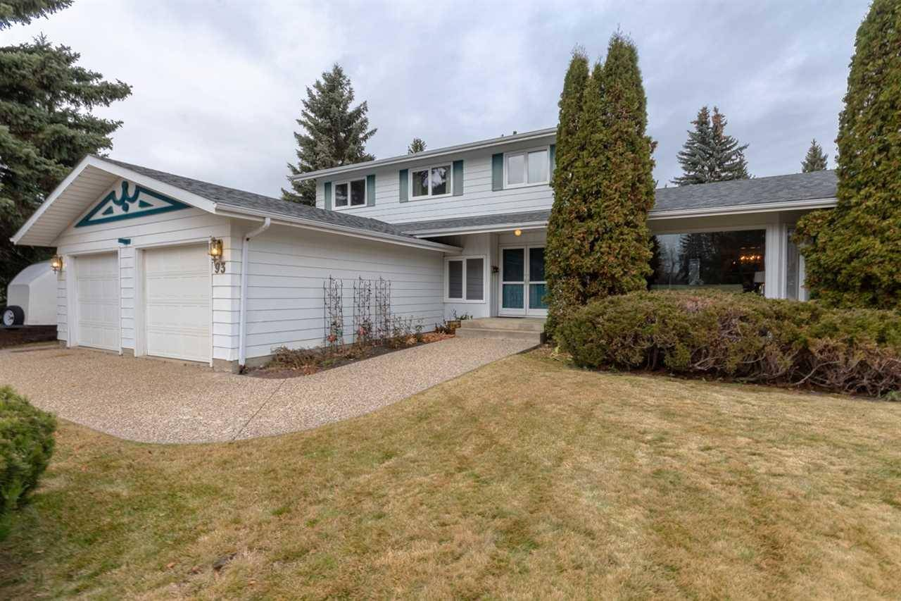 House for sale at 93 Fairway Dr Nw Edmonton Alberta - MLS: E4179247