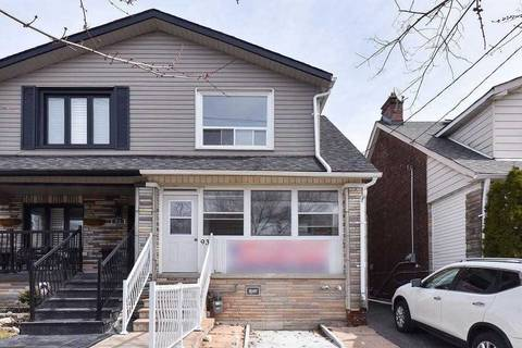 Townhouse for sale at 93 Glebemount Ave Toronto Ontario - MLS: E4720948