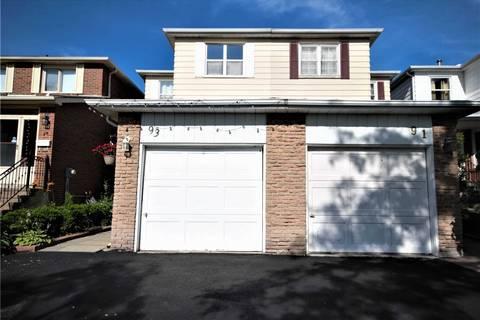 Townhouse for sale at 93 Kenhatch Blvd Toronto Ontario - MLS: E4582931