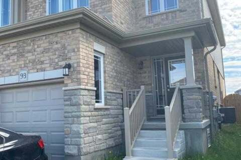 Townhouse for rent at 93 Kirvan Dr Guelph Ontario - MLS: X4775161