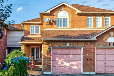 Townhouse for sale at 93 Lauraglen Cres Brampton Ontario - MLS: W4824529