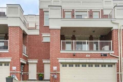 Townhouse for sale at 93 Luzon Ave Markham Ontario - MLS: N4776240
