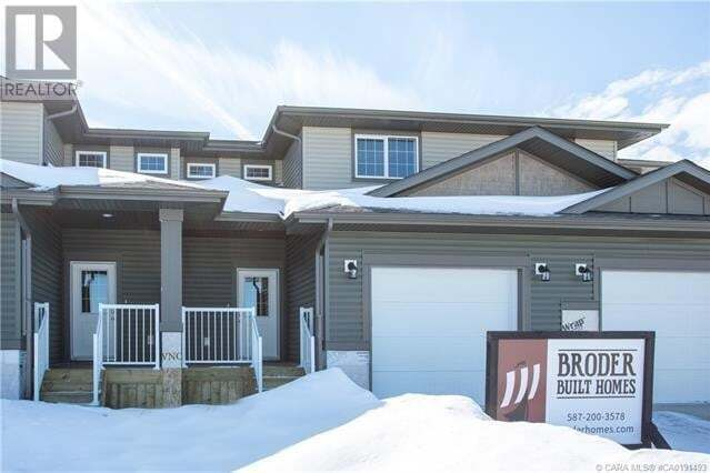 Townhouse for sale at 93 Metcalf Wy Lacombe Alberta - MLS: ca0191493